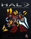 Halo- Elite Honor Guard Chibi by alphanite
