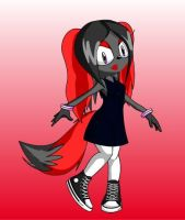 My little sonic character by poison-is-my-koolaid