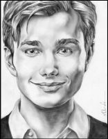 Chris Colfer by skyinthepie