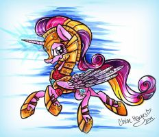 Armored Cadance by frostykat13