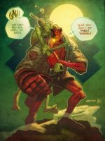 Hellboy in COLOR by Andrew-Ross-MacLean