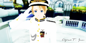 Navy!America: How may I serve you, Ma'am? by 0xWhaii