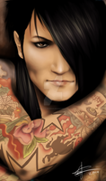 Ashley Purdy by The13th-Warrior