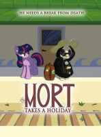 Commission: Mort takes a holiday by Siansaar