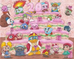 Kirby's 20th Birthday by Chenanigans