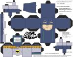 60sBat1: Batman Cubee by TheFlyingDachshund