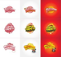 Super Surprise Logos by Naasim