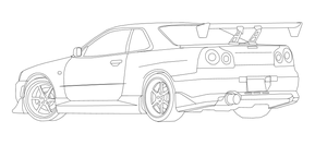 Coloring Pages Of Gtrs Beautiful Nissan Gtr R35 Crystal Home Car Staruptalent also Nissan Skyline Gtr R34 Coloring Sketch Templates moreover Product in addition 1993 Nissan Skyline R32 Gt R Vspec together with Alfa Romeo 155 Car. on nissan r35 gtr