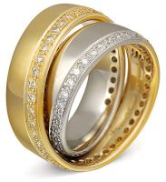 Continuum Pave Diamond Band by DianaVincent