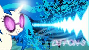 DJ PON-3 Wallpaper by AlpheusRGB