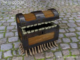 The Luggage from Discworld by stephenallred