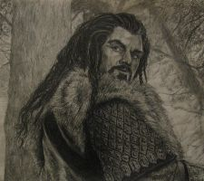 Thorin Oakenshield, King Under the Mountain by BlueOakRogue
