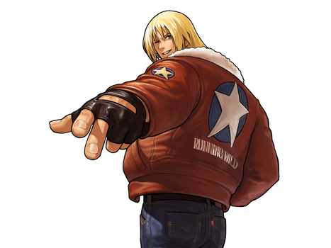 Terry Bogard  - NGBC Victory PNG by Zeref-ftx
