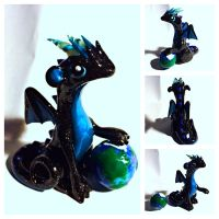 Earth  Day dragon by LittleCLUUs