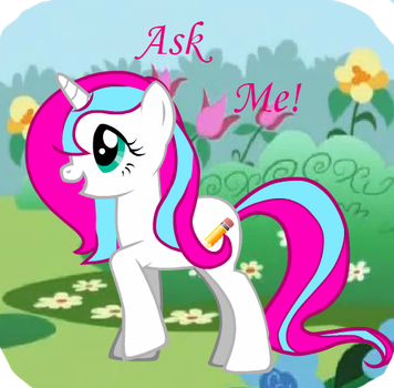 Ask me! pony by Fionnin4ever