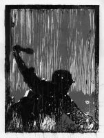 Soldier - Woodcut by SilentIvo