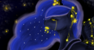 A Falling Star by colorlesscupcake