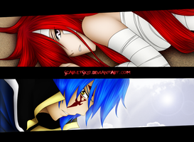 Erza and Jellal (FT331) by ScarletSky7