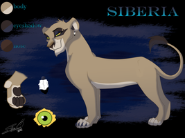 New Siberia ref by SilvertoneAnimals