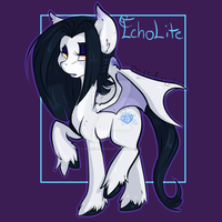 MLP OC EchoLite by BlueKazenate