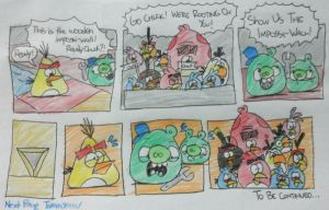 Angry Birds - The Wooden Impossi-Wall Part 1 by AngryBirdsStuff