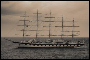The White Ship by villewilson