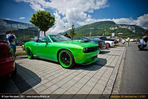 new challenger convertible by AmericanMuscle