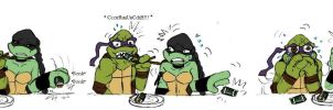 Plastic sushi TMNT by Lily-pily