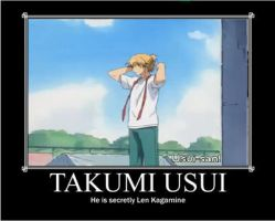 Usui motivational poster by thegirlsgeneration89