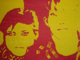 Alison and Vince from Yazoo by rkdavies