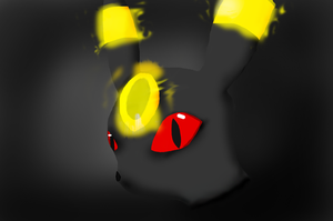 My Umbreon Head by Th33z