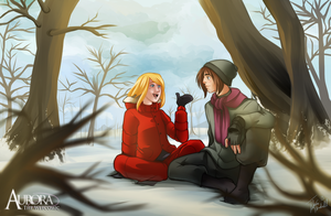 +Our Chats in the Woods+ by Sheena-X-Zelos