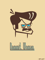 Dammit, Woman by Cool-Hand-Mike