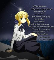 Saber's song by chiisai-hoshi