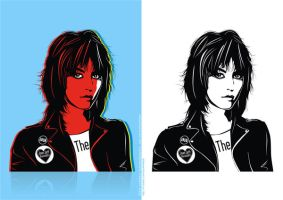 Joan Jett and Blackhearts by Luciferbeck
