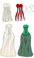 Clothes Design 1 by ironwitch