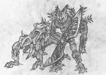 Gelu and a Sand Stalker by Vrahno