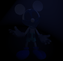 Shade Mickey V4 by Photo-NegativeMickey