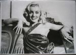 Marilyn Monroe portrait - Drawn by BrunoEpeb