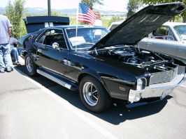 Car In Black - 1968 AMX by RoadTripDog