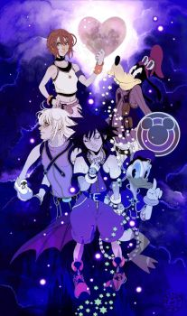 kingdom hearts by mude