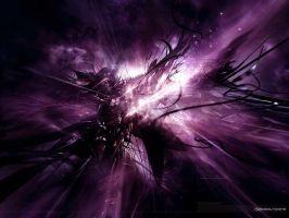 Purple Nebula by mikefire17
