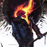 Ghost Rider iPad Wallpaper by comicgeeks