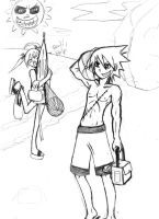 Soul Eater - At The Beach by EvanescencesAngel