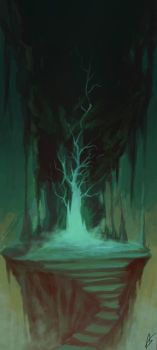 Entrance to the Underworld by Zeich