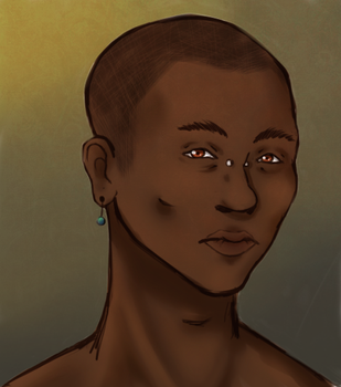 Unnamed OC Portrait by sunset-blue