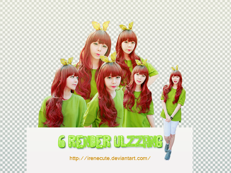 [RENDER PACK #2] Ulzzang by irenecute