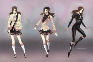 Mugen: Female uniform by analmouse