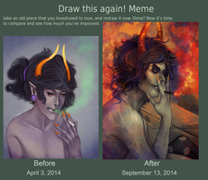 Draw this again meme - Gamzee by QuyenT