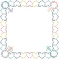 Square Frame Pastelb genders mtmf by happyare
